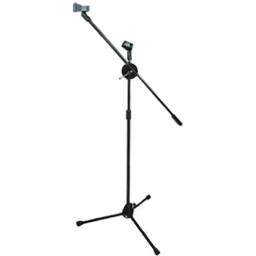 Titan Microphone Stand and Mic Clip (Black)