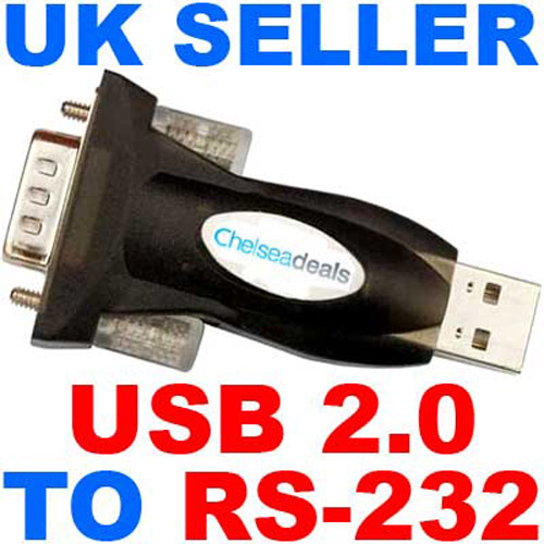 USB 2.0 to RS-232 Adapter (Very Fast)