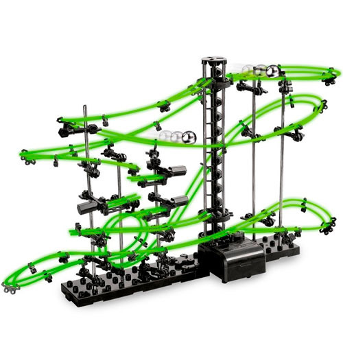 Spacerail Venus Level 2 Glow In The Dark Marble Roller Coaster