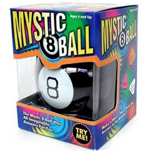 MYSTIC / MAGIC 8 BALL Decison Maker / Fortune Teller