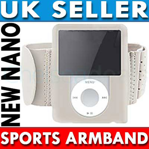 Sports Gym Armband for iPod Nano 3G - Grey