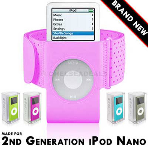 Armband for iPod Nano 2nd Generation - Pink