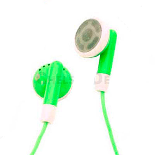 Brand New Apple iPod Earphones - Green
