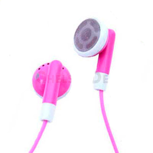 Brand New Apple iPod Earphones - Hot Pink