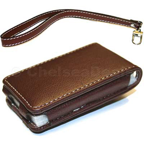 Executive iPod Nano Leather Case - Brown