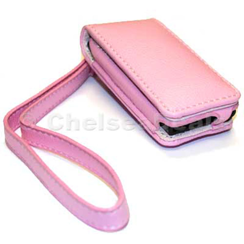 Executive iPod Nano Leather Case - Pink