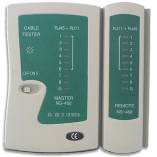 Network LAN Cable Tester with RJ45 and RJ11