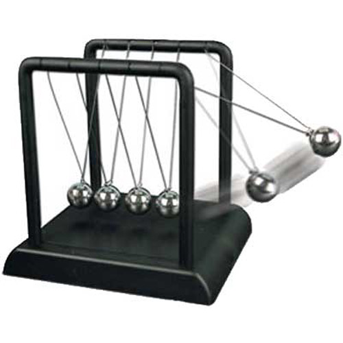 Newtons Cradle - Executive Desktop Toy - Boxed