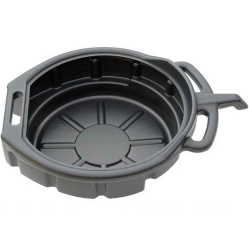 16 Litre Petrol Fuel Coolant Oil Drain Pan Bucket Draining Tray