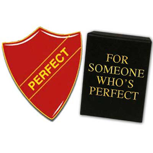 PERFECT / PREFECT Enamel School Badge