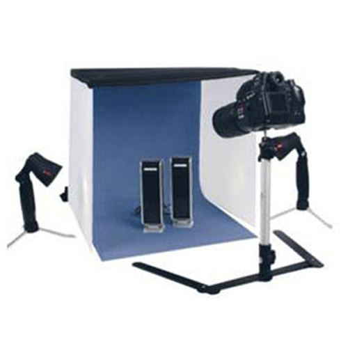 Portable Konig Photo Studio with Lights & Case