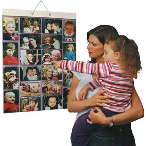 Picture Pockets for Hanging 40 Photos - 20 Pockets