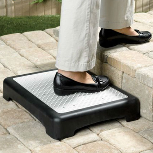Anti Slip Outdoor Half Step Elderly Disability Door Walking Aid