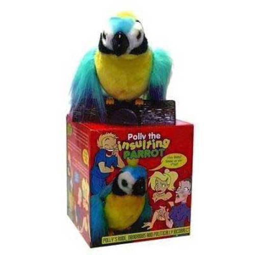 Polly - The Talking, Swearing and Insulting Parrot