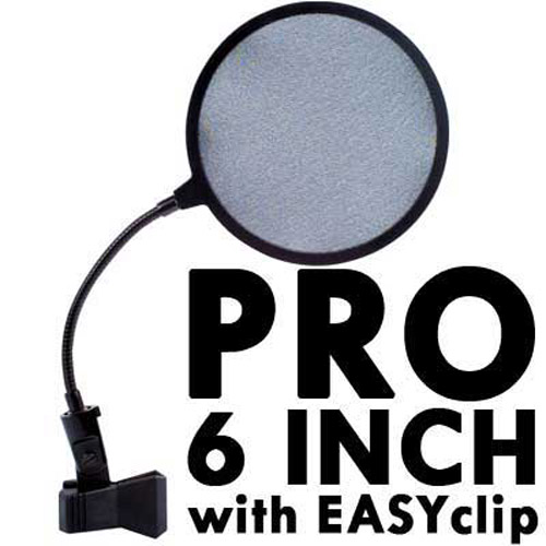 Professional Mic Pop Shield - 6 Inch