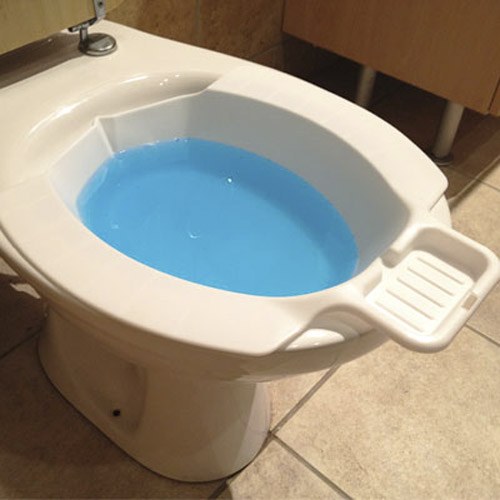 Pharmedics Portable Toilet Bidet - Plus Built In Soap Tray