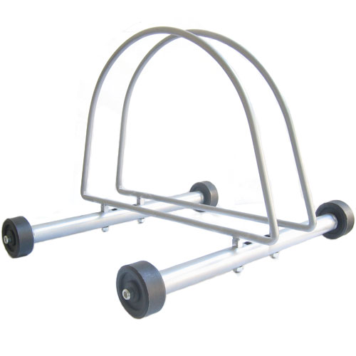 Portable Rolling Indoor/Outdoor Bicycle Stand Bike Rack