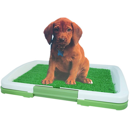 Dog Puppy Potty Pad Toilet Training Tray - Organic Scent