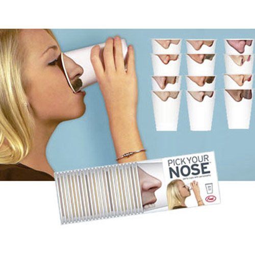 Pick Your Nose Party Cups - Packs of 24