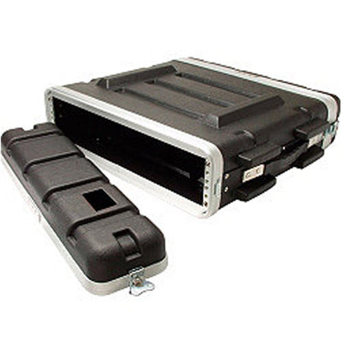 19inch 2U ABS Equipment Storage/Transport Flight Case Rack