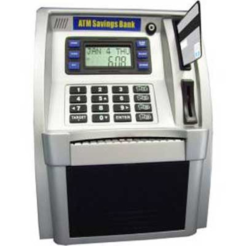 ATM Savings Bank Money Box