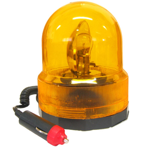 Revolving Amber Breakdown Flashing Warning Light Beacon