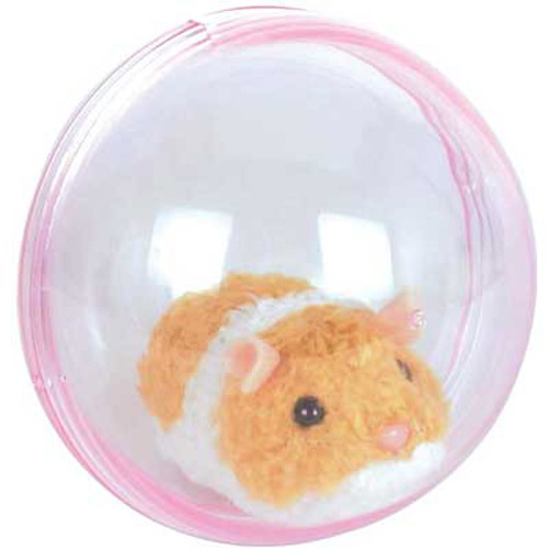 Running Hamster - An Active Toy Hamster in a Ball