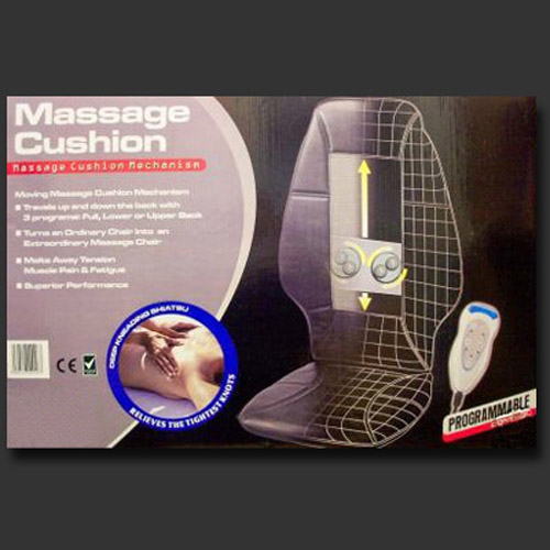 Shiatsu Massage Cushion Chair - Soothes/Releives Bad Backs