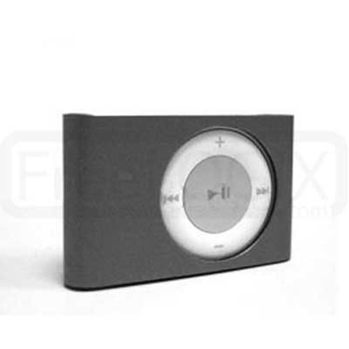Hard Metal Case for iPod Shuffle 2ND Gen - Black