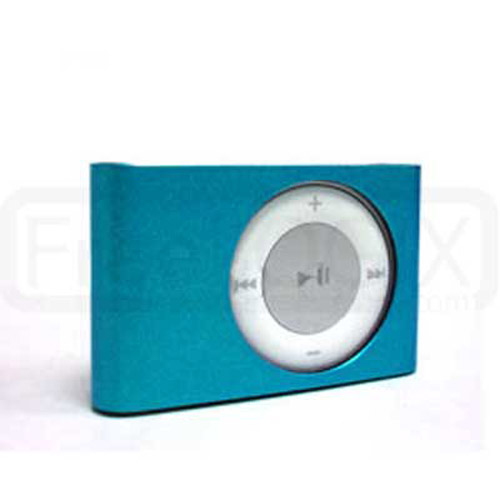 Hard Metal Case for iPod Shuffle 2ND Gen - Blue