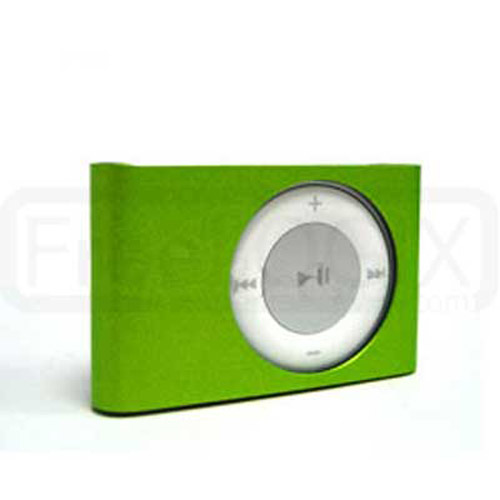 Hard Metal Case for iPod Shuffle 2ND Gen - Green