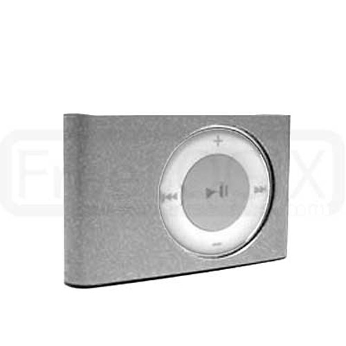 Hard Metal Case for iPod Shuffle 2ND Gen - Silver
