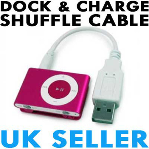 NEW Sync and Charger USB Cable for the iPod Shuffle 2G