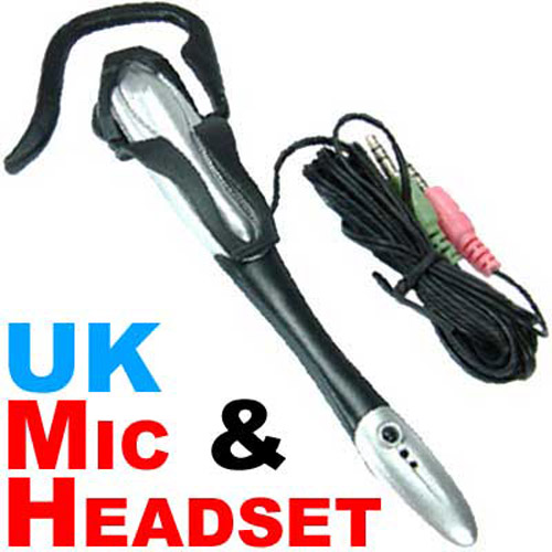 PC Headset with Microphone for Internet Chat