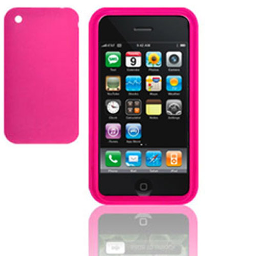 Apple Iphone 3G 8GB/16GB Skin - Hot Pink
