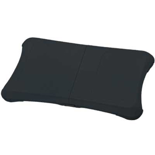 Silicone Case/Skin/Protector For Wii Fit Board - Jet Black