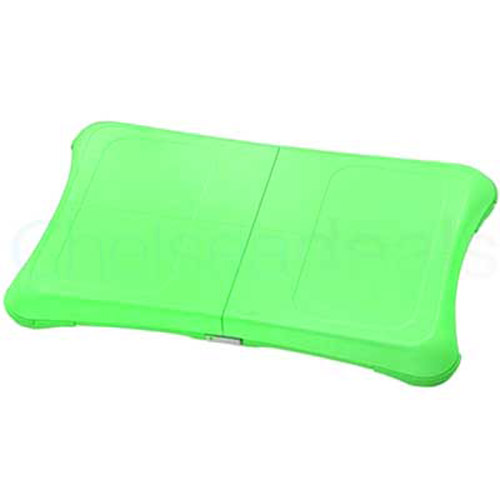 Silicone Case/Skin/Protector For Wii Fit Board - Lime Green