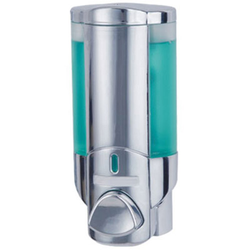 Chrome Soap/Shampoo Bathroom Dispenser - 200ml Capacity