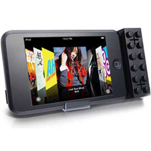 iBlock iPod Stereo Speakers For Nano, Touch - Black