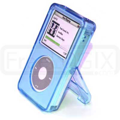 StageShow Hard Case for iPod Video 60/80 GB - Blue