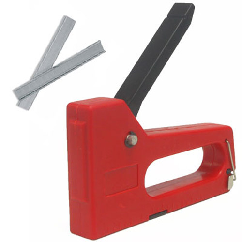 Staple Tacker Gun - Easy Fire Use - Comes With 200 Staples