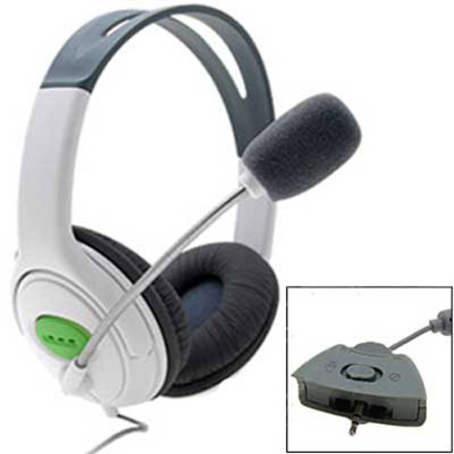 Headset / Headphones with Microphone for XBOX 360 LIVE