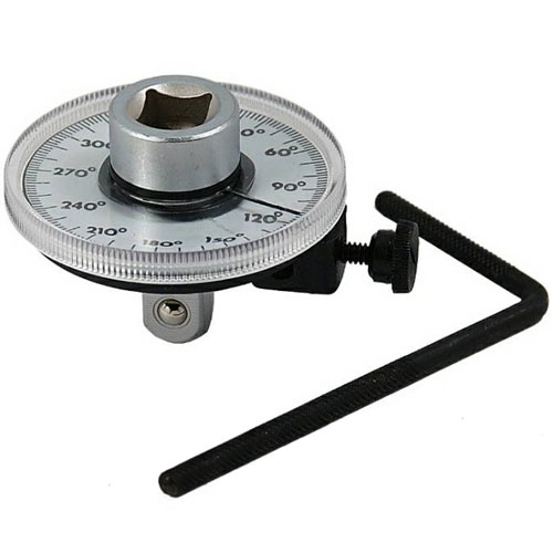 "1/2"" Drive Pro Mechanics Quality Torque Angle Gauge Wrench"