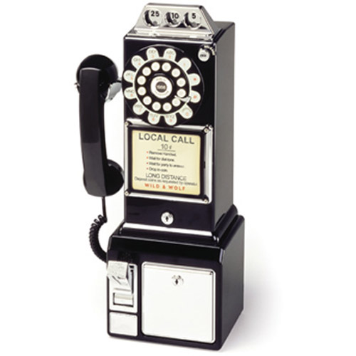Retro American Phone 1950's Diner Payphone Telephone