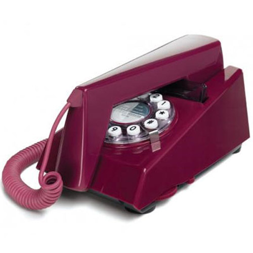 Retro 1970's Trim Phone - Purple