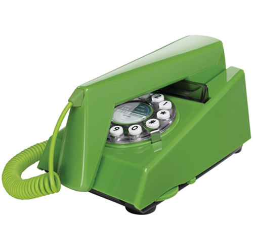 Retro 1970's Trim Phone - Green