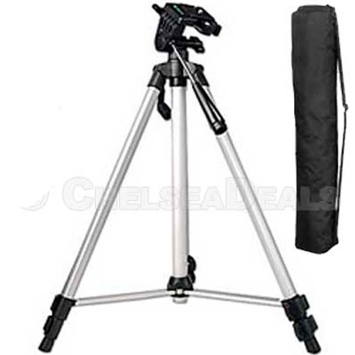 53-Inch Professional Camera Tripod & Free Carry Case