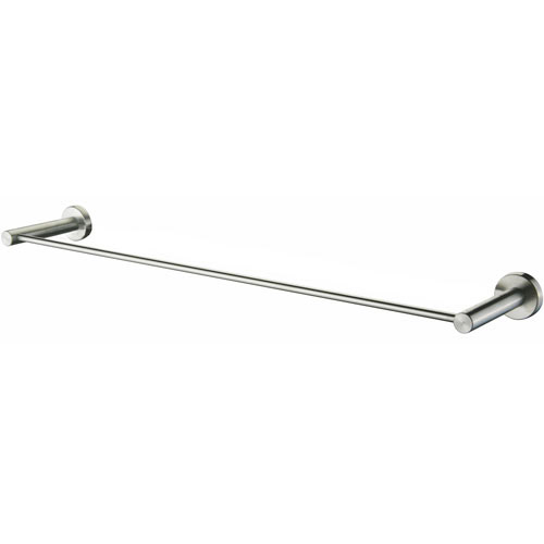 Wall Mounted Stainless Steel Single Straight Towel Rail Rack