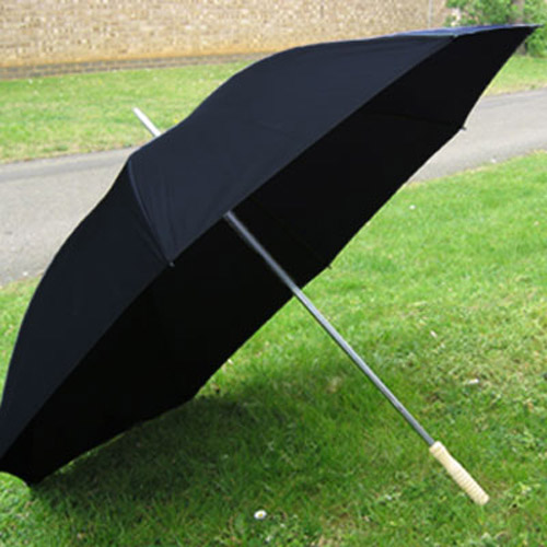 Large Classic Wedding & Golf Umbrella - Black