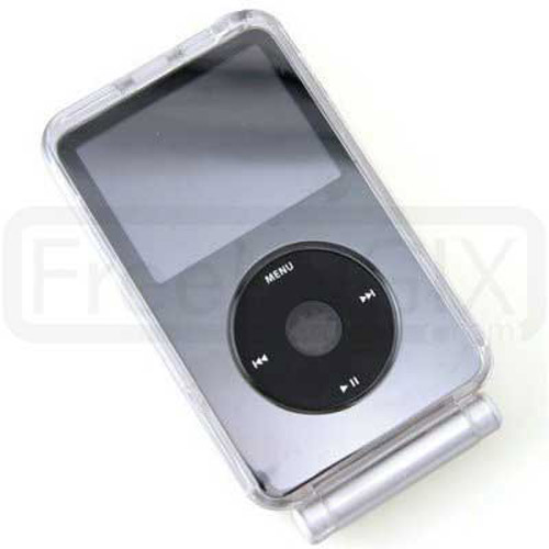 Crystal Case with Lanyard Rope for iPod Video 60GB
